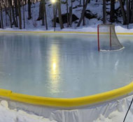 Summer's Over – Time to Put Up the Backyard Rink!