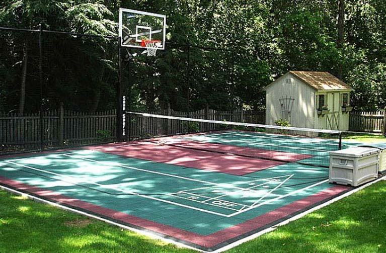 Total Sport Solutions helps families find the best multi-game courts to give them a variety of opportunities for fun and more