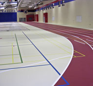 High value, low maintenance gym flooring