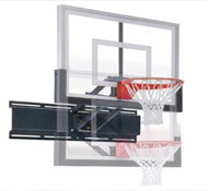 Affordable wall mount option for basketball goals