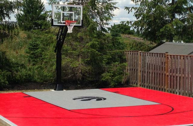 Residential Backyard Courts