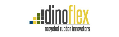 Dinoflex - Recycled rubber sort flooring