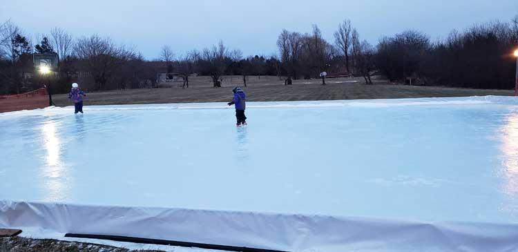 Backyard Ice Rink, Photo Gallery, Toronto GTA, Mississauga