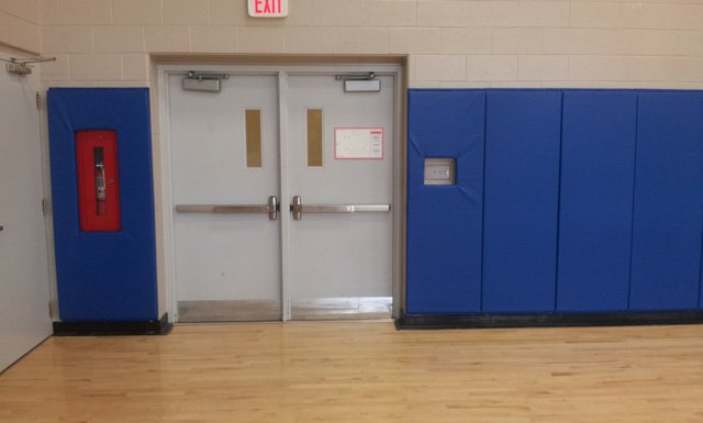 Customized Wall Padding in a Toronto Gym