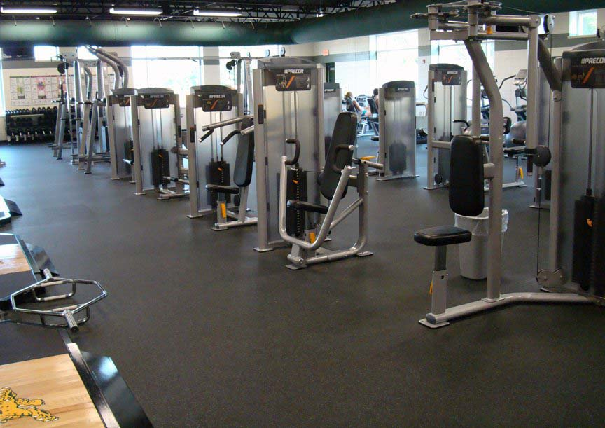 Commercial Gyms Flooring Rubber Flooring Toronto Gta