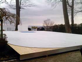 Synthetic Ice Outdoor Pad