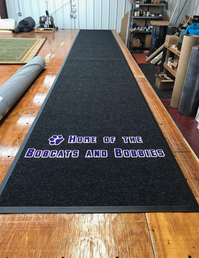 TSS Courtside Runner, gym flooring, Toronto GTA