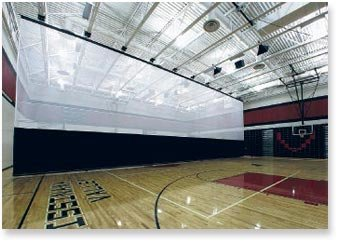 Gym Divider Curtains Toronto Oakville Mississauga Gta