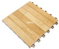 Revolution Sports Flooring Surface - SnapSports - Colour Maple
