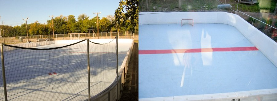 Backyard Rink Boards : Dasher Boards  Outdoor Hockey Rink  Oakville, Hamilton, GTA