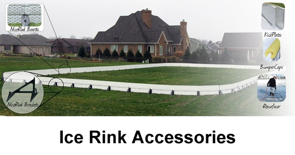 Backyard ice rink  accessories