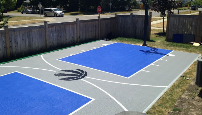 Backyard Basketball Courts Outdoor Courts Toronto Oakville Mississauga Gta