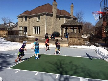 Outdoor Game Court