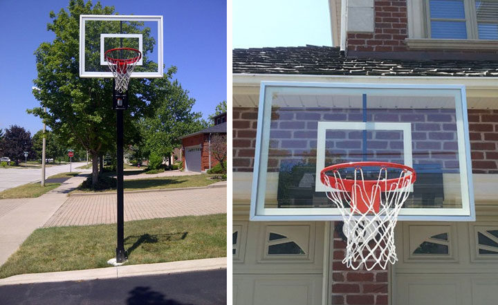 Hi quality basketball goals installed by Total Sposrt Solutions in southern Ontario